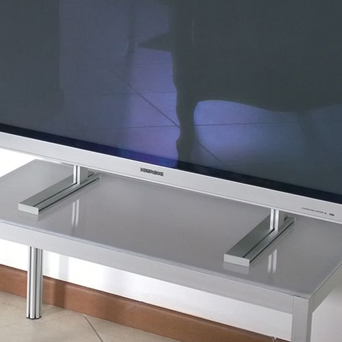 Staffa base supporto TV universale in alluminio standard Vesa | eBay